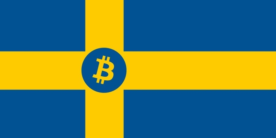 Swedish officials settle their first debt in Bitcoin
