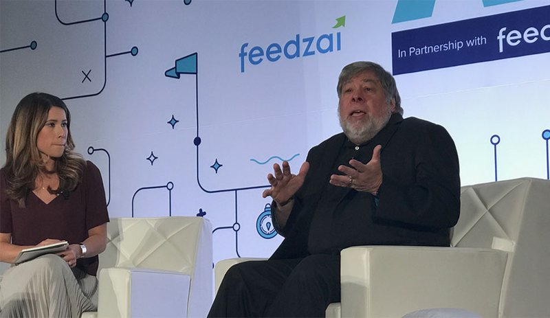 Apple Computer's co-creator Steve Wozniak believes Bitcoin could be even better than gold. (PHOTO: Bitcoin Magazine)