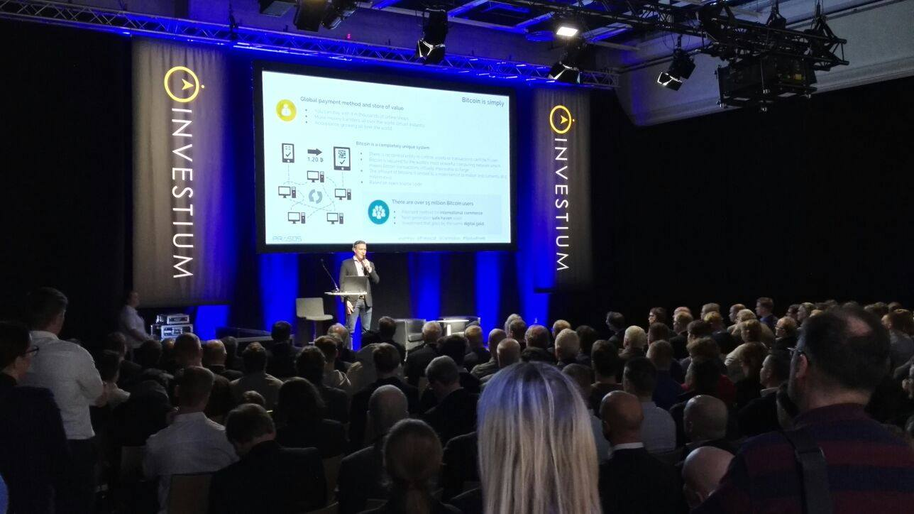This week Prasos was also present n Sijoitus Invest event in Helsinki where the traditional investors were very interested in learning more about cryptocurrencies