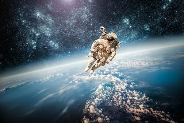 Many scientists think that conquering space is inevitable is mankind is to survive.