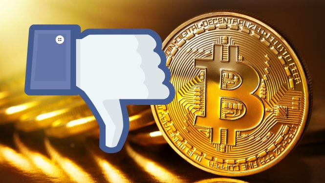 Facebook's advertising ban might have fed the market panic even further.