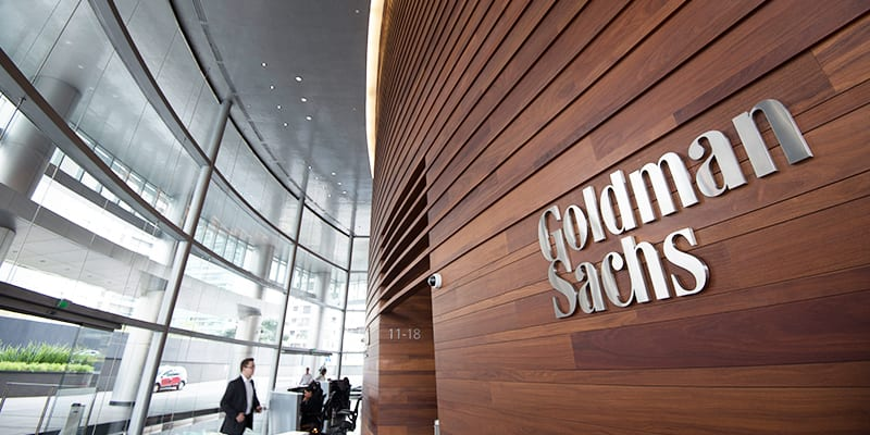 Goldman Sachs is trying to become the first Wall Street bank with a foot in Bitcoin trading.
