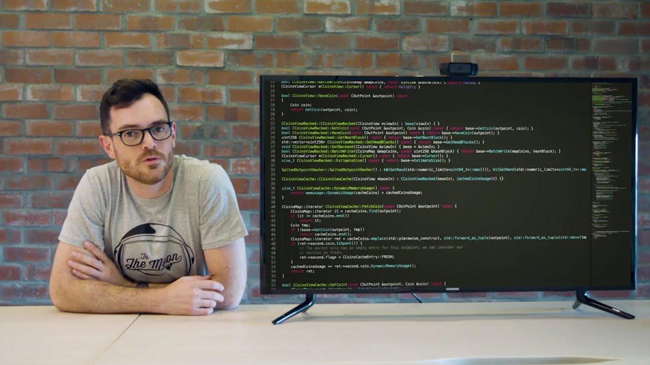 Código fuente bitcoin programador blockchain