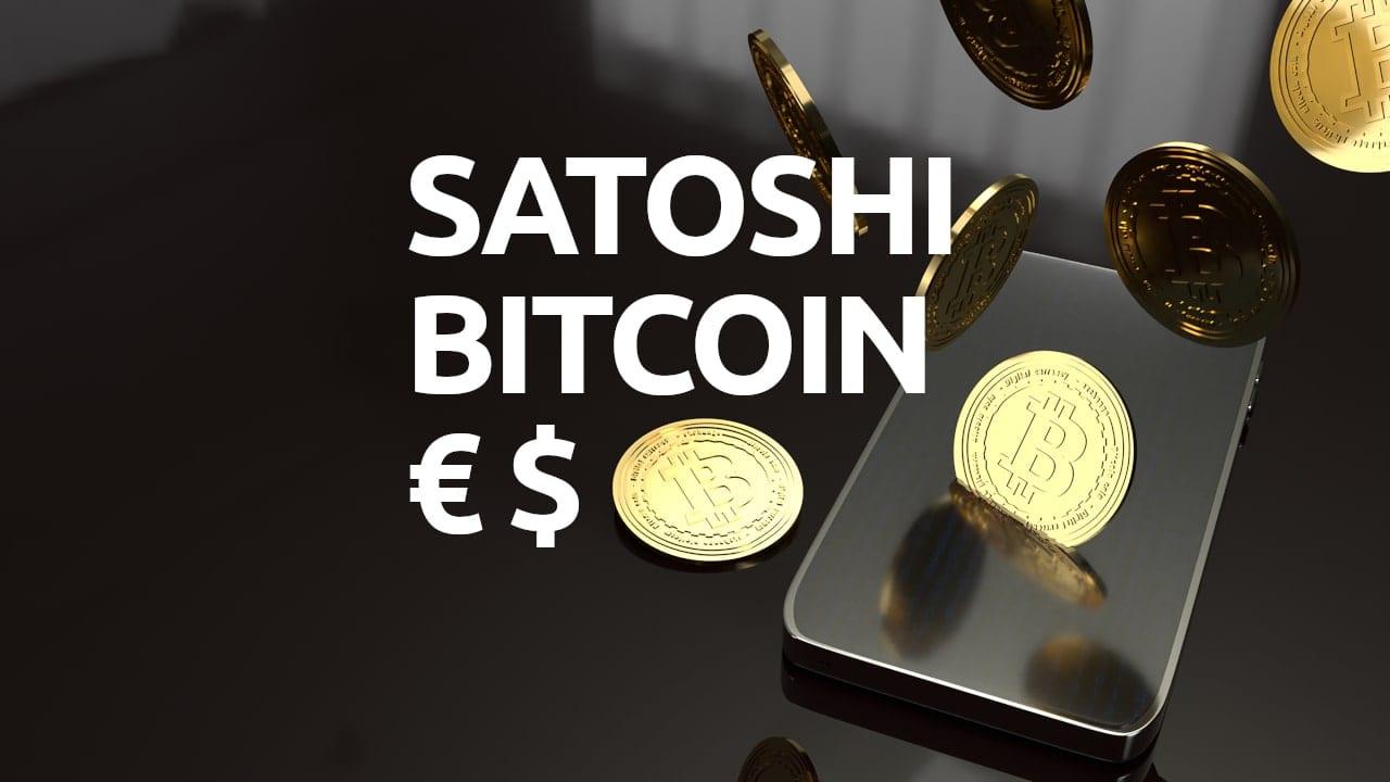 Qué es un satoshi convertir bitcoin euros dólares