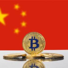 Bitcoin China flag