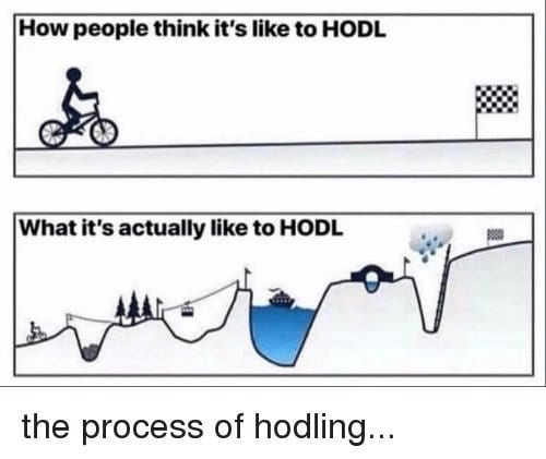 What is HODL