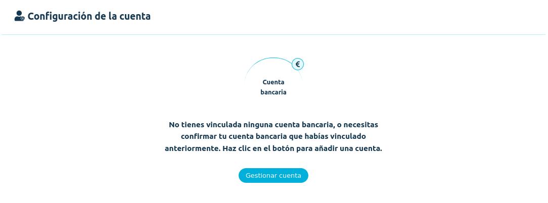 Vincular cuenta bancaria en Coinmotion
