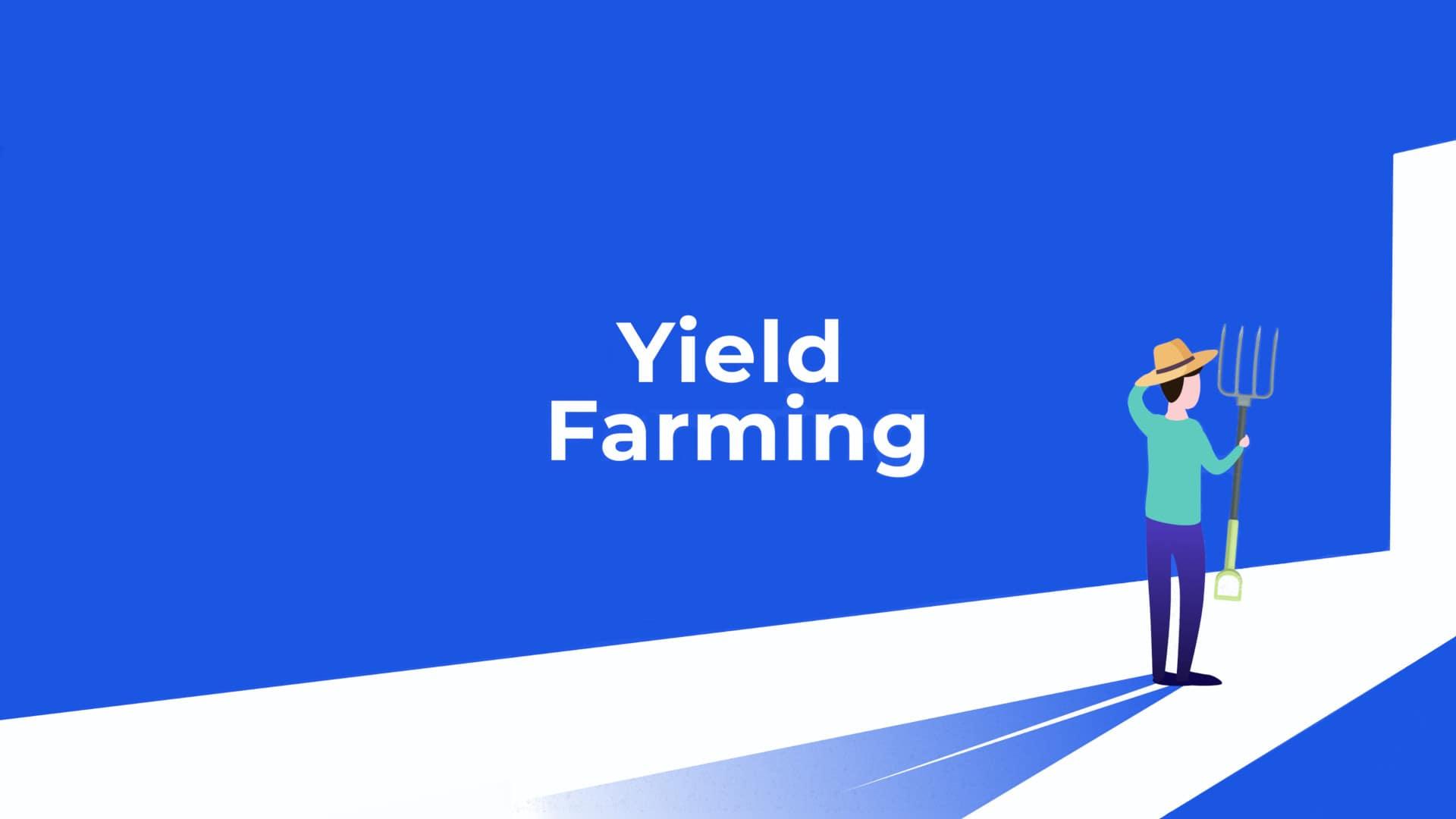 Qué es Yield Farming criptomonedas