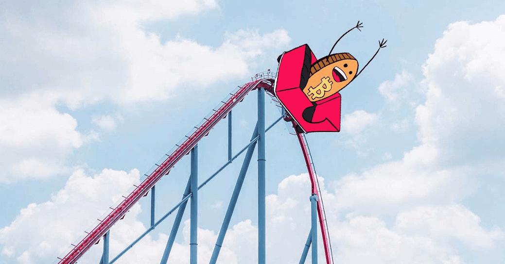 Bitcoin roller coaster ride