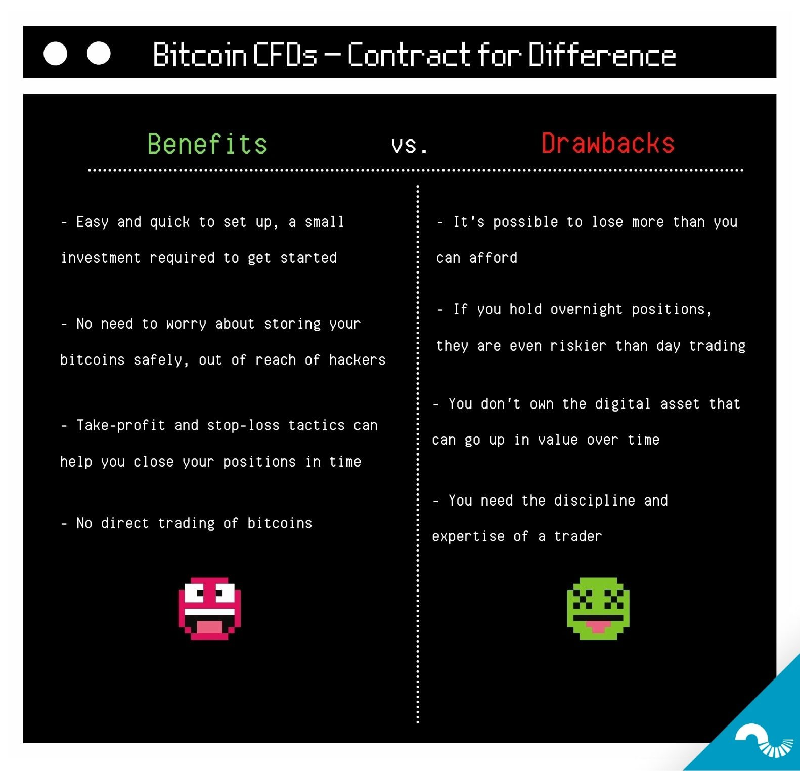 bitcoin cfd pros and cons