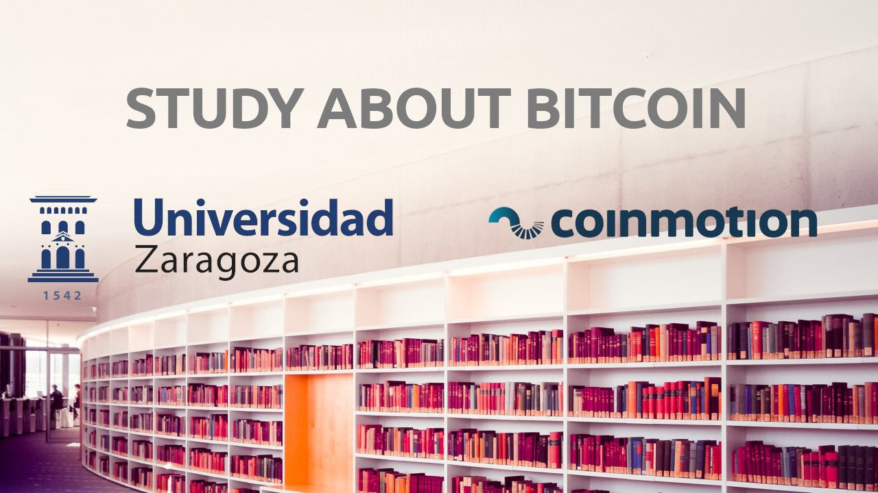 Study about bitcoin University of Zaragoza