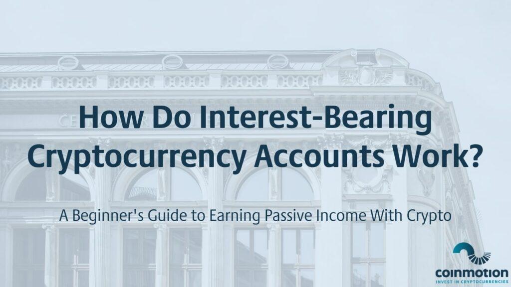 crypto interest account