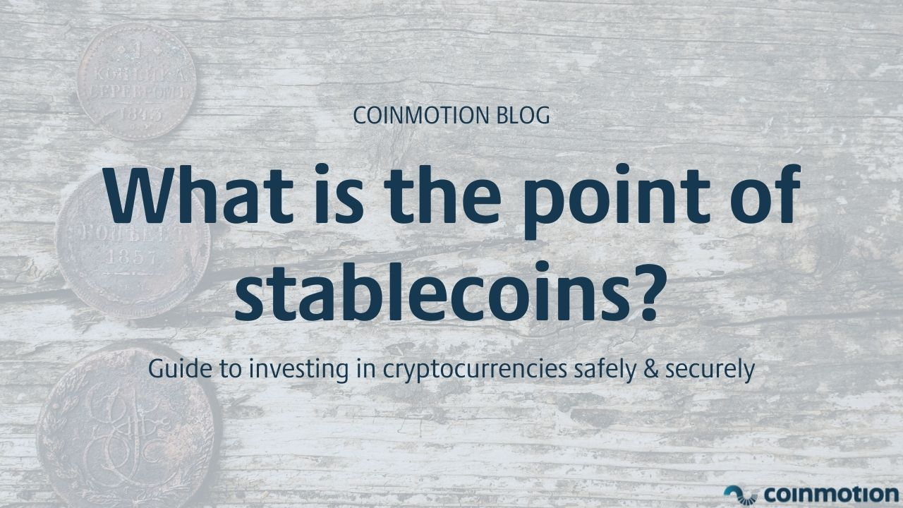 what is the point of a stablecoin