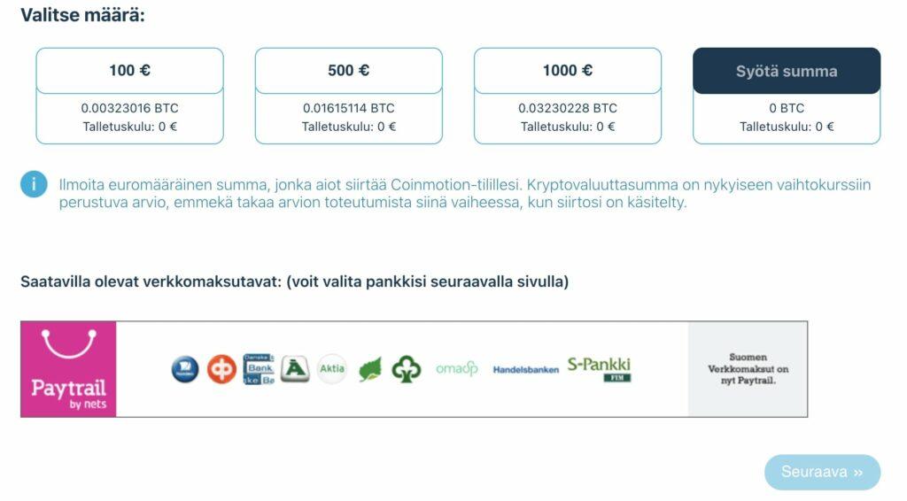 coinmotion-Välittömät-bitcoin-sijoitukset