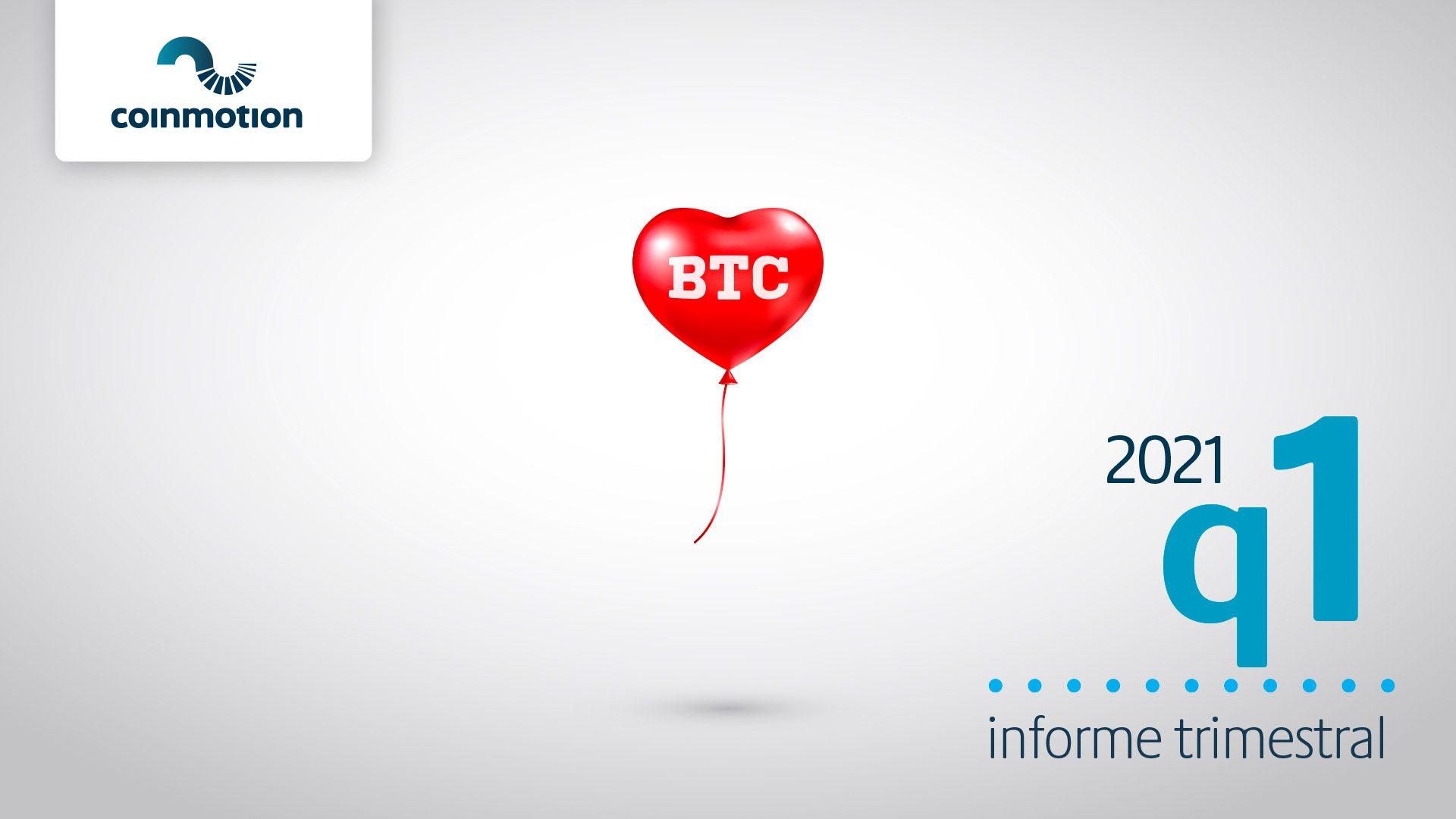 Informe análisis mercado criptomonedas q1 2021 Coinmotion