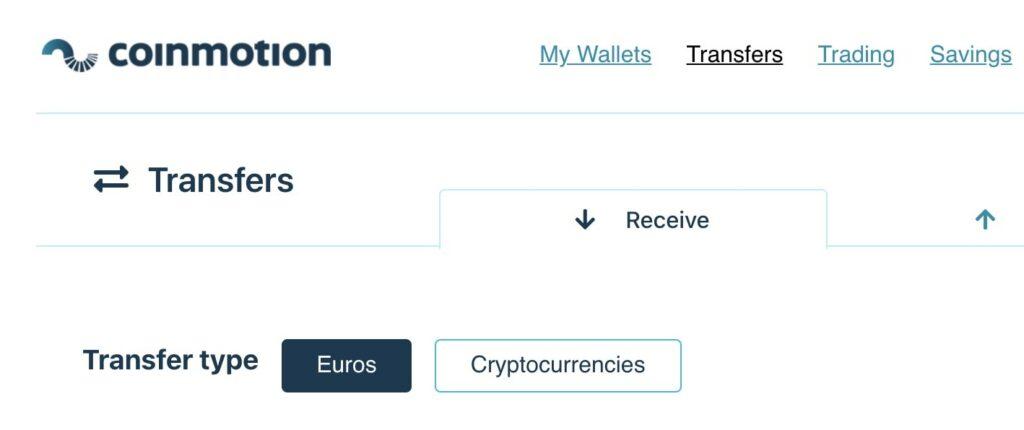 Stort direct euro's om cryptovaluta te kopen op Coinmotion