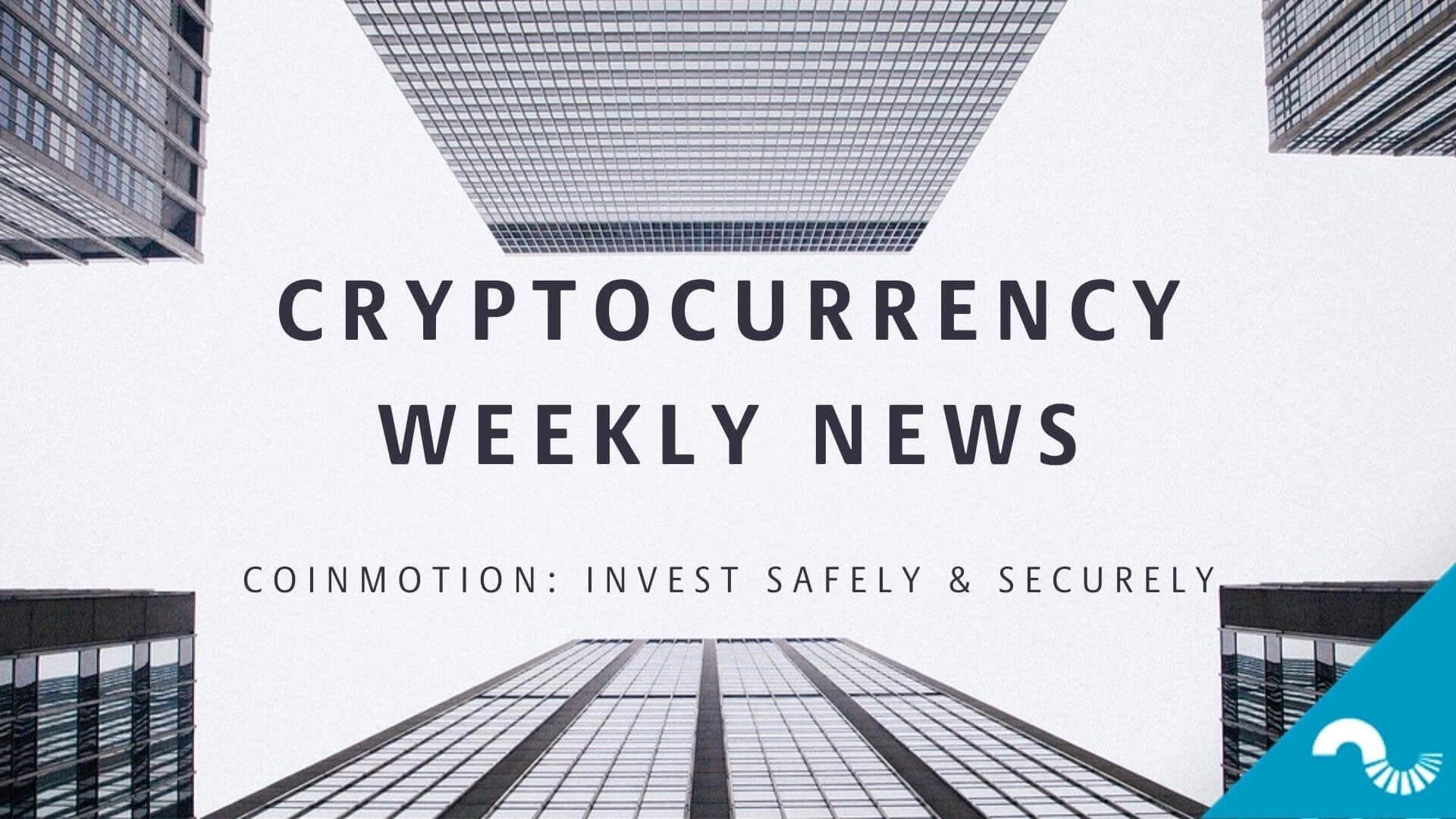 crypto weekly news coinmotion