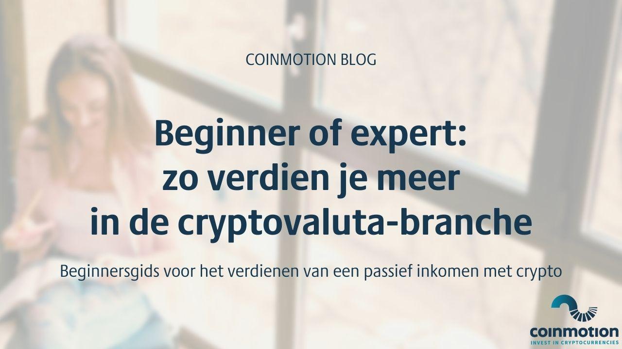 passief inkomen met crypto
