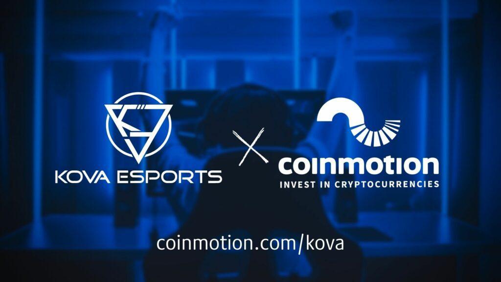 coinmotion kova esports