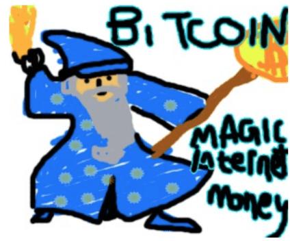 """The famous """"magic internet money"""" The famous """"magic internet money"""" wizard from Reddit from Reddit"""